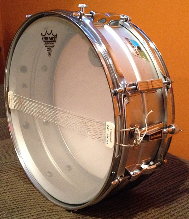 Late 1970s Ludwig 5×14 Acrolite Snare | MKE Drum Co.