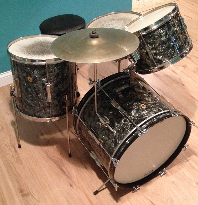 Dating pearl drums