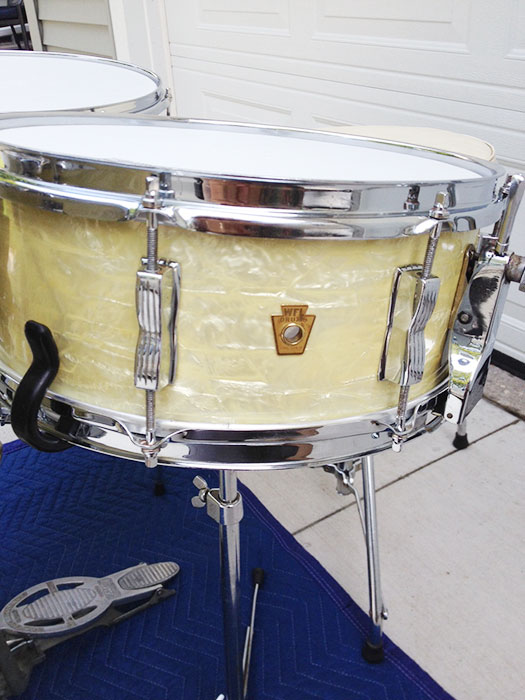 1950 S Ludwig Wfl Buddy Rich Super Classic Kit In Wmp