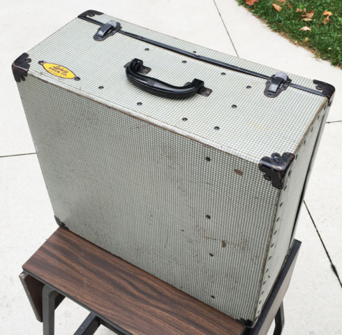 Vintage Early 1960s Ludwig Snare Case Box