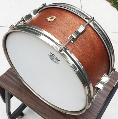 Ludwig 1948-1952 WFL Supreme Concert 6.5x14 Mahogany Snare Drum