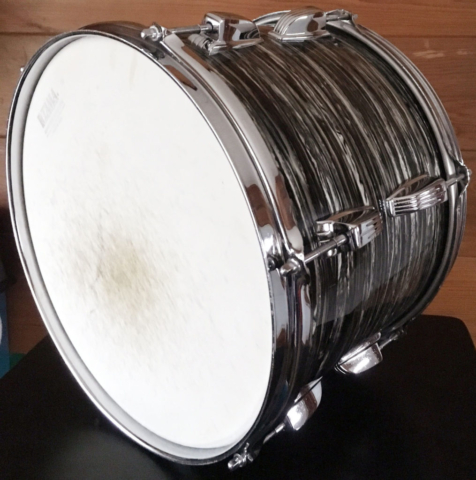 "1966 Ludwig 13"" Classic Tom in Oyster Black Pearl"
