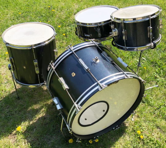 1960s Ludwig Club Dates Custom Painted