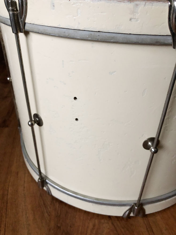 1938 Ludwig & Ludwig 12x18 Single Tension Bass Drum