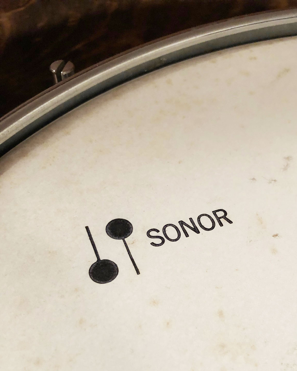 1960s Sonor 14.5x16 Floor Tom in Sparkling Turquoise