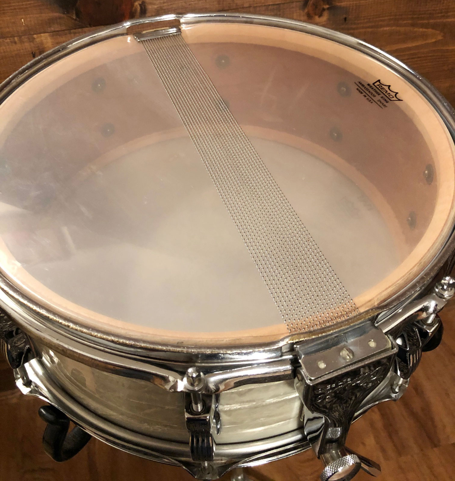 1957 WFL 5.5x14 Buddy Rich Model Super Classic Snare Drum